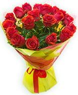 19 Adet kırmızı gül buketi  İzmir Konak online çiçekçi , çiçek siparişi