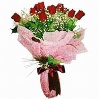 İzmir Konak çiçek mağazası , çiçekçi adresleri  12 adet kirmizi kalite gül