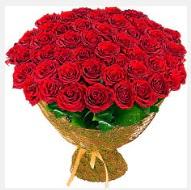 51 adet gül 1 günlüğüne indirimde  İzmir Konak uluslararası çiçek gönderme