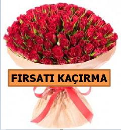 SON 1 GÜN İTHAL BÜYÜKBAŞ GÜL 101 ADET  İzmir Konak kaliteli taze ve ucuz çiçekler