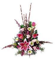 İzmir Konak İnternetten çiçek siparişi  mevsim çiçek tanzimi - anneler günü için seçim olabilir
