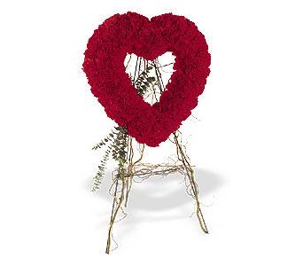 İzmir Konak kaliteli taze ve ucuz çiçekler  karanfillerden kalp pano