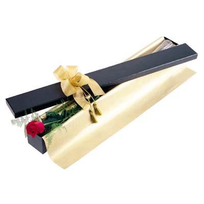 İzmir Konak çiçek yolla  tek kutu gül özel kutu
