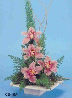 İzmir Konak uluslararası çiçek gönderme  vazoda 4 adet orkide