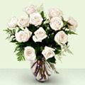 İzmir Konak çiçekçi telefonları  beyaz güller cam yada mika vazo