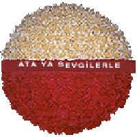 arma anitkabire - mozele için  İzmir Konak online çiçek gönderme sipariş