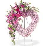 kalp içerisinde mevsim çiçekleri   İzmir Konak online çiçekçi , çiçek siparişi