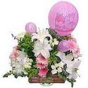 balon ve çiçeklerle tanzim  İzmir Konak kaliteli taze ve ucuz çiçekler