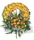 cenaze çiçegi celengi cenaze çelenk çiçek modeli  İzmir Konak online çiçek gönderme sipariş