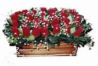 yapay gül çiçek sepeti   İzmir Konak online çiçekçi , çiçek siparişi