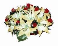 yapay karisik çiçek sepeti   İzmir Konak yurtiçi ve yurtdışı çiçek siparişi