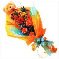 ayicik gül ve kir çiçekleri   İzmir Konak çiçek servisi , çiçekçi adresleri