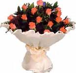 11 adet gonca gül buket   İzmir Konak online çiçek gönderme sipariş