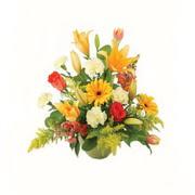 karisik renkli çiçekler tanzim   İzmir Konak online çiçek gönderme sipariş