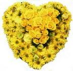 kalp biçiminde sevgisel   İzmir Konak uluslararası çiçek gönderme