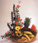sepet  ve  meyva  sepeti   İzmir Konak cicekciler , cicek siparisi