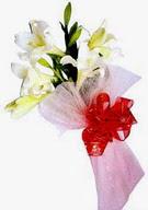 İzmir Konak anneler günü çiçek yolla  ince vazoda gerbera ve ayi