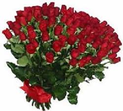 51 adet kirmizi gül buketi  İzmir Konak güvenli kaliteli hızlı çiçek