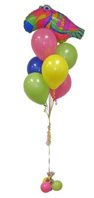 İzmir Konak cicek , cicekci  Sevdiklerinize 17 adet uçan balon demeti yollayin.