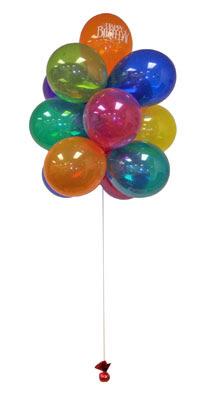 İzmir Konak cicekciler , cicek siparisi  Sevdiklerinize 17 adet uçan balon demeti yollayin.