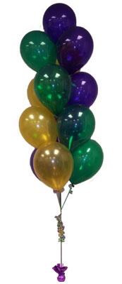 İzmir Konak hediye sevgilime hediye çiçek  Sevdiklerinize 17 adet uçan balon demeti yollayin.