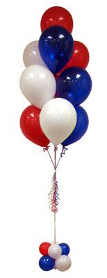 İzmir Konak çiçek online çiçek siparişi  Sevdiklerinize 17 adet uçan balon demeti yollayin.