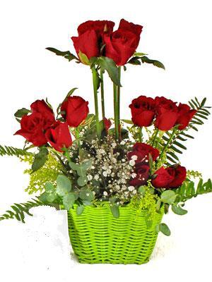 İzmir Konak çiçek gönderme sitemiz güvenlidir  Çiçek siparisi 9 adet kirmizi gül