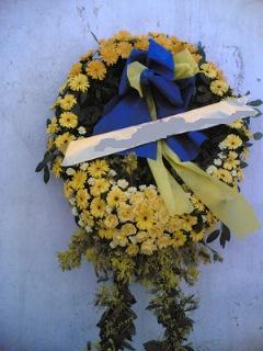 Cenaze çiçek , cenaze çiçegi , çelengi  İzmir Konak İnternetten çiçek siparişi