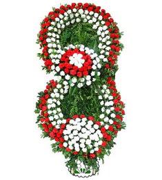 Görsel Cenaze çiçek , cenaze çiçek , çelengi  İzmir Konak çiçek yolla