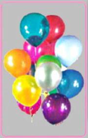 İzmir Konak çiçek yolla , çiçek gönder , çiçekçi   15 adet karisik renkte balonlar uçan balon