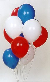 İzmir Konak güvenli kaliteli hızlı çiçek  17 adet renkli karisik uçan balon buketi