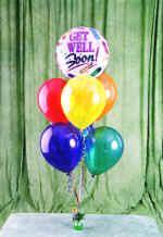 İzmir Konak internetten çiçek siparişi  18 adet renkli uçan balon hediye ürünü balon