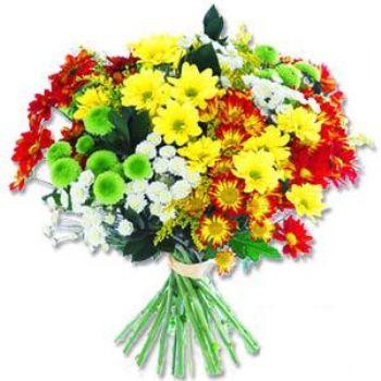 Kir çiçeklerinden buket modeli  İzmir Konak çiçek yolla , çiçek gönder , çiçekçi