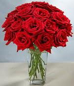 İzmir Konak çiçek mağazası , çiçekçi adresleri  Sevdiklerinize özel ürün 12 adet cam içerisinde kirmizi gül  İzmir Konak çiçek online çiçek siparişi