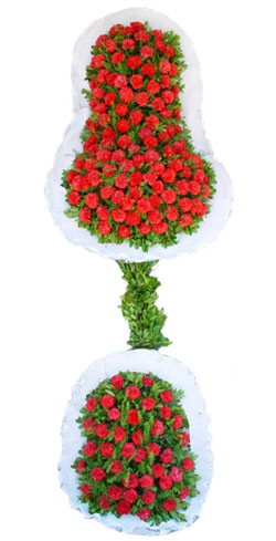 Dügün nikah açilis çiçekleri sepet modeli  İzmir Konak İnternetten çiçek siparişi