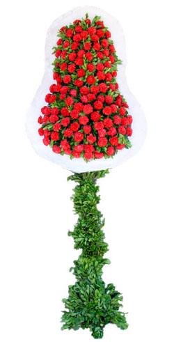 Dügün nikah açilis çiçekleri sepet modeli  İzmir Konak çiçek siparişi vermek