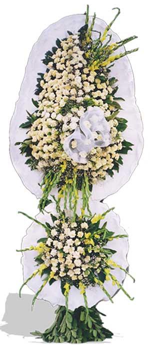 Dügün nikah açilis çiçekleri sepet modeli  İzmir Konak online çiçek gönderme sipariş