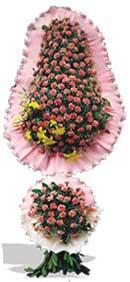Dügün nikah açilis çiçekleri sepet modeli  İzmir Konak uluslararası çiçek gönderme