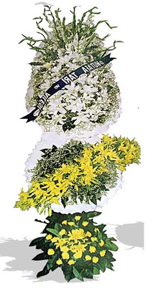 Dügün nikah açilis çiçekleri sepet modeli  İzmir Konak anneler günü çiçek yolla
