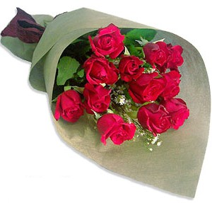 Uluslararasi çiçek firmasi 11 adet gül yolla  İzmir Konak hediye çiçek yolla