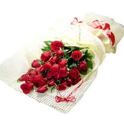 Çiçek gönderme 13 adet kirmizi gül buketi  İzmir Konak 14 şubat sevgililer günü çiçek