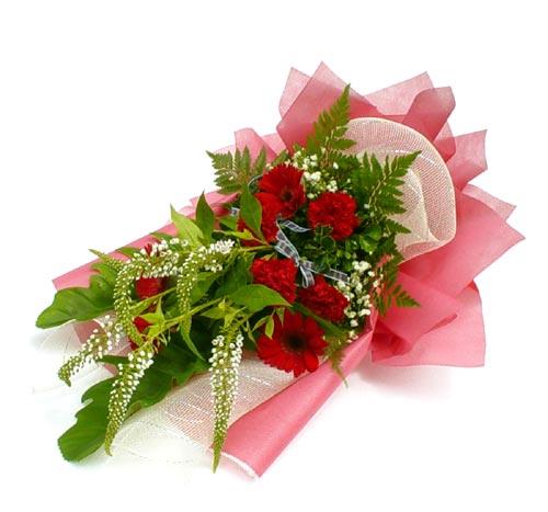 Karisik çiçek buketi mevsim buket  İzmir Konak çiçek mağazası , çiçekçi adresleri
