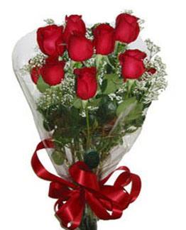 Çiçek sade gül buketi 7 güllü buket  İzmir Konak çiçek yolla , çiçek gönder , çiçekçi