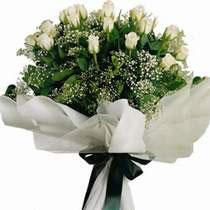 İzmir Konak çiçek yolla  11 gül buketi özel tanzim
