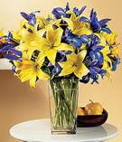 İzmir Konak çiçekçi telefonları  Lilyum ve mevsim  çiçegi özel