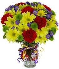 En güzel hediye karışık mevsim çiçeği  İzmir Konak çiçek online çiçek siparişi