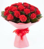 12 adet kırmızı gül buketi  İzmir Konak çiçek mağazası , çiçekçi adresleri