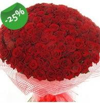 151 adet sevdiğime özel kırmızı gül buketi  İzmir Konak çiçek mağazası , çiçekçi adresleri