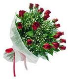 11 adet şahane gül buketi  İzmir Konak kaliteli taze ve ucuz çiçekler