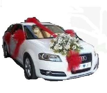 İzmir Konak çiçek online çiçek siparişi  Gelin arabası sünnet arabası süsleme